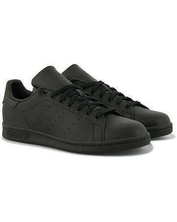 Adidas Sneaker mit niedrigem Schaft von  Originals. Grösse: EU40 2/3. Farbe: Schwarz.  Originals Stan Smith Leather Sneaker Black Herren grau