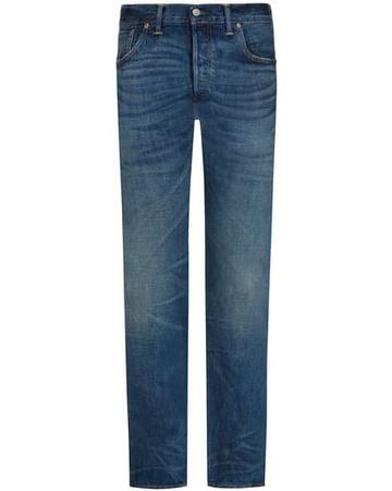 Ralph Lauren Slim Narrow Jeans (Größe: 30/32;31/32;32/32;33/32;34/32;36/32;38/32) grau