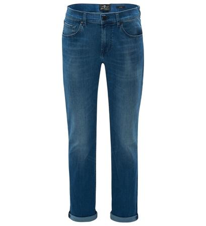 7 For All Mankind Jeans 'Slimmy' blau grau