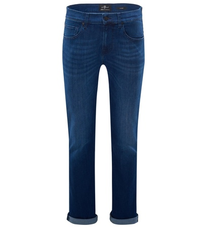 7 For All Mankind Jeans 'Slimmy' dunkelblau grau