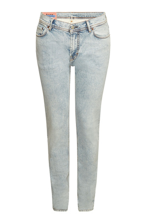 Acne  Studios 5-Pocket Slim Jeans grau