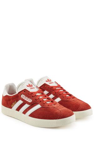 Adidas  Originals Sneakers Gazelle aus Veloursleder rot