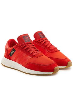 Adidas  Originals Sneakers I-5923 mit Veloursleder rot