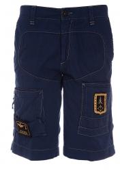 Aeronautica Militare Herren Bermuda Shorts Blau grau