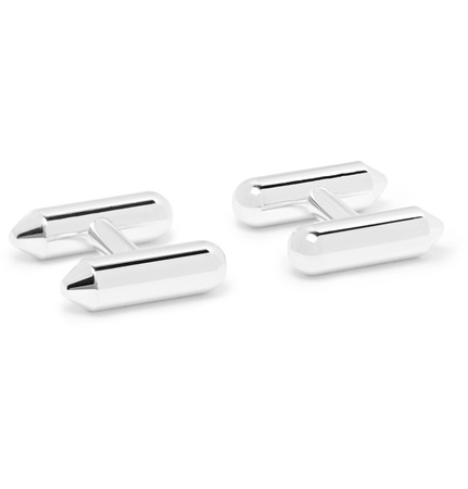 Alice Made This Maxwell Silver-tone Cufflinks - Silver grau