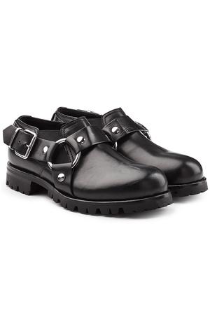 ALYX  STUDIO Boots Chef Daddy aus Leder grau