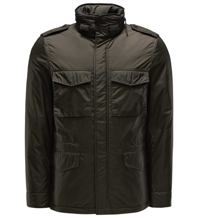 Aspesi Field Jacket 'Minfield' oliv schwarz