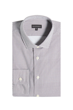 Baldessarini  Gemustertes Hemd aus Baumwolle grau