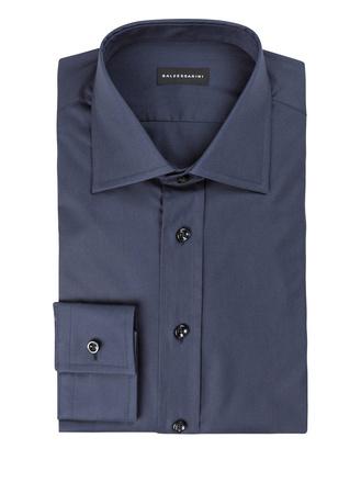 Baldessarini  Hemd KEN Tailored-Fit blau grau