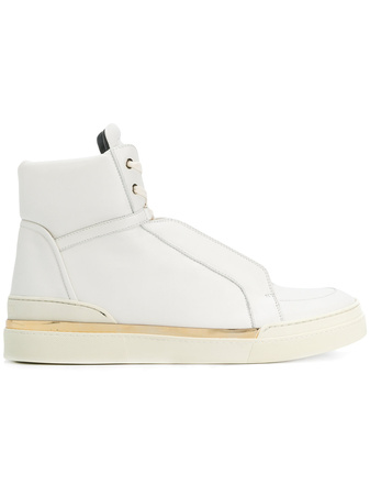 Balmain  'Atlas' High-Top-Sneakers - Weiß