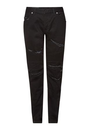Balmain  Distressed Slim Jeans