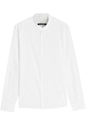 Balmain  Hemd aus Baumwolle weiss