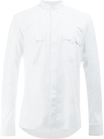 Balmain  Hemd mit Brusttaschen - Weiß