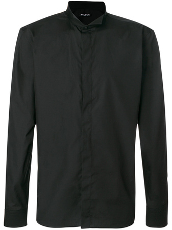 Balmain  Klassisches Hemd - Schwarz