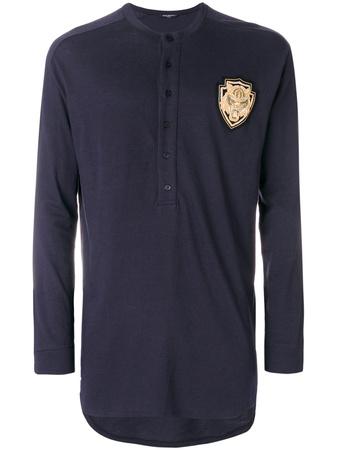 Balmain  'Lion' Langarmshirt - Blau