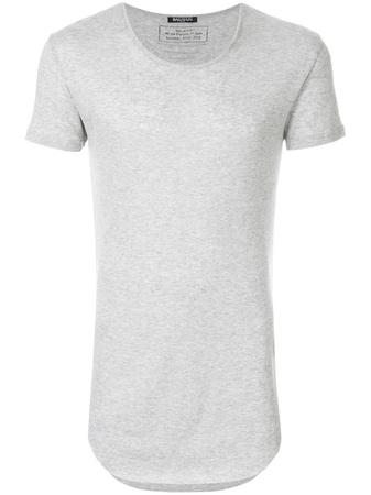 Balmain  skinny fit T-shirt - Grau