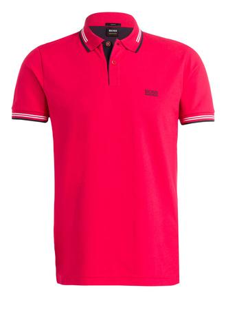 Boss Green  Piqué-Poloshirt PAUL Slim Fit pink