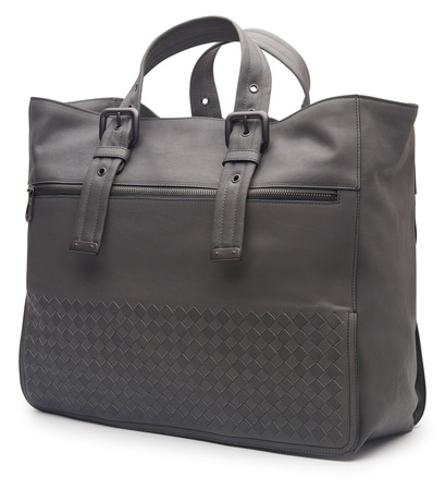Bottega Veneta Tote Bag grau