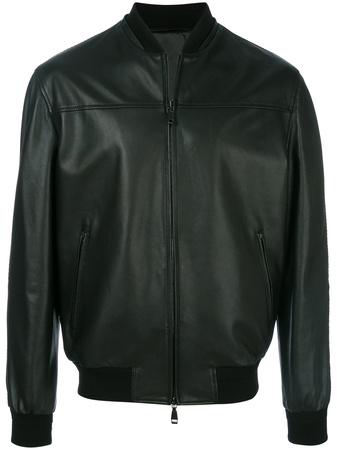 Brioni  bomber jacket - Schwarz