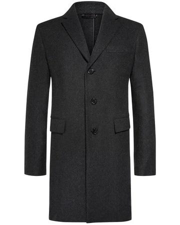 Brioni Cashmere-Mantel (Größe: 52;54;56) schwarz