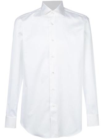 Brioni  Klassisches Hemd - Weiß