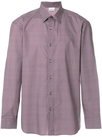 Brioni  patterned shirt - Rot