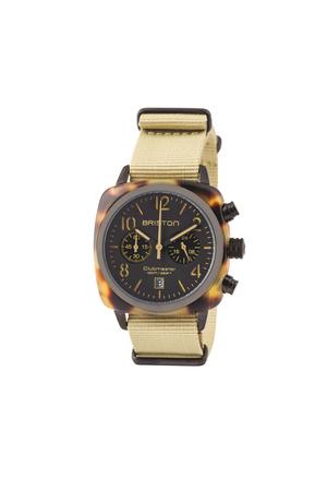 Briston  Uhr CLUBMASTER CLASSIC CHRONOGRAPH MATT Herren Farbe: schilf verfügbare Größe: One Size grau