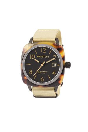Briston  Uhr Clubmaster Classic Hms Schwarz Matt Herren Farbe: schilf verfügbare Größe: One Size grau