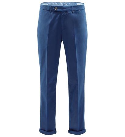 Brunello Cucinelli Chino 'Traditional Fit' blau