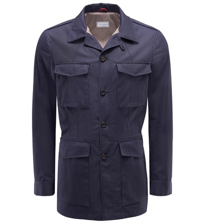 Brunello Cucinelli Field Jacket navy