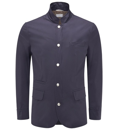 Brunello Cucinelli Jacke dark navy