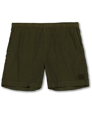 C.P. Company Badehosen von . Grösse: 46. Farbe: Grün.  Garment Dyed Swimshorts Forest Night Herren braun