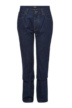Calvin Klein  205W39NYC Bestickte Straight Leg Jeans grau
