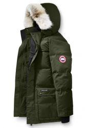 Canada Goose Herren Daunenparka Emory Military Green schwarz