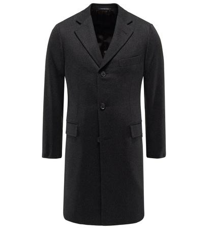 Caruso Cashmere Mantel schwarz schwarz