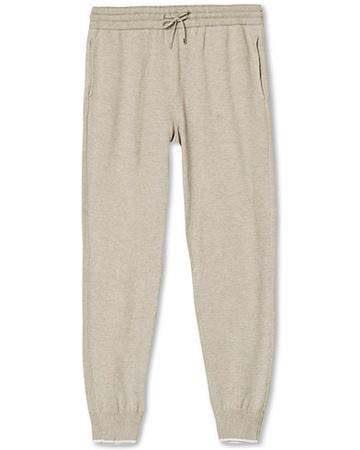 Gran Sasso Jogginghosen von . Grösse: 46. Farbe: Beige.  Cotton/Cashmere Knitted Trousers Cream Herren braun