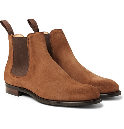Cheaney Godfrey Suede Chelsea Boots - Brown braun