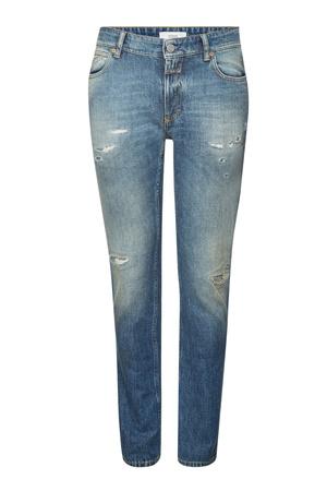 Closed  Slim Jeans Unity im Distressed Look grau