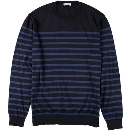 Closed Strick-Pullover Gestreift