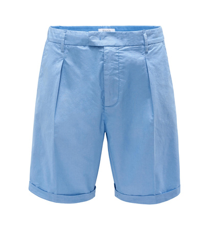 Dondup Chambray-Bermudas 'Yan' hellblau blau