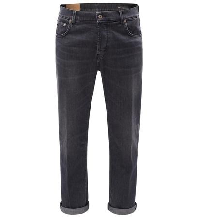 Dondup Jeans 'Ivan Carrot Drop Crotch Fit' dunkelgrau grau