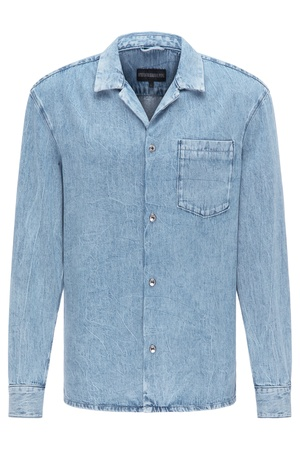 Drykorn  Herren Hemd MAURI blau Gr. L