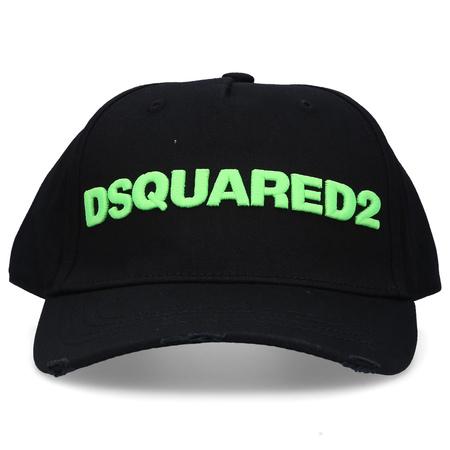 Dsquared2  Snapback Cap OTHER CARGO Baumwolle Stickerei logo schwarz schwarz