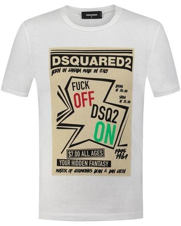Dsquared2 T-Shirt  grau
