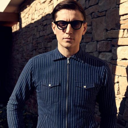 Eton  Contemporary fit Gestreiftes Zipper Hemd