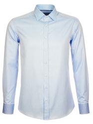 Etro Herren Hemd langarm Blau grau