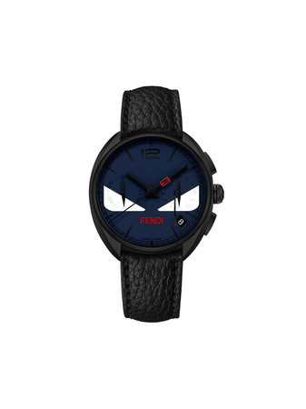 Fendi  Momento  Bugs watch - Schwarz