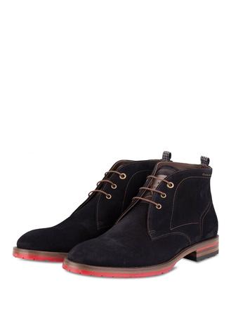 Floris van Bommel  Desert-Boots schwarz