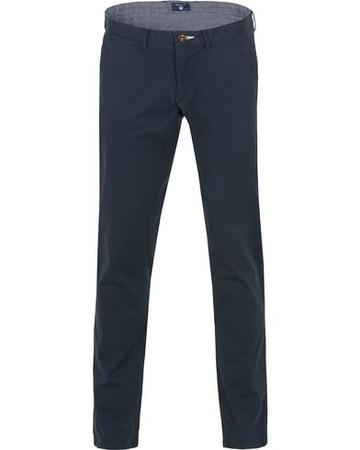 Gant Chinos von . Grösse: W30L32. Farbe: Blau.  Slim Twill Chino Marine Herren grau