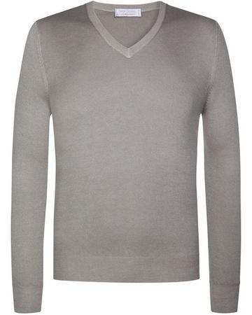 Gran Sasso Cashmere-Pullover (Größe: 48;50;52;54;56;58) grau